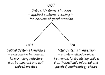 critical systems thinking ulrich Critical systems thinking in the systems and or domains has a history reaching back over 40years critical systems heuristics (ulrich, 1983) hard or, soft or.